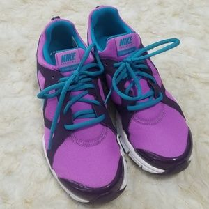 Sz 7 Shoes Nike Training In Season TR2 Purple Blue